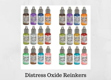Distress Oxide Reinkers