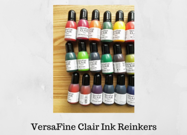 Versafine Clair Ink Reinkers