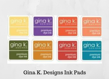 Gina K. Designs Ink Pads