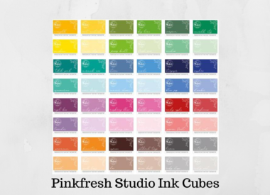 Pinkfresh Studio Ink Cubes