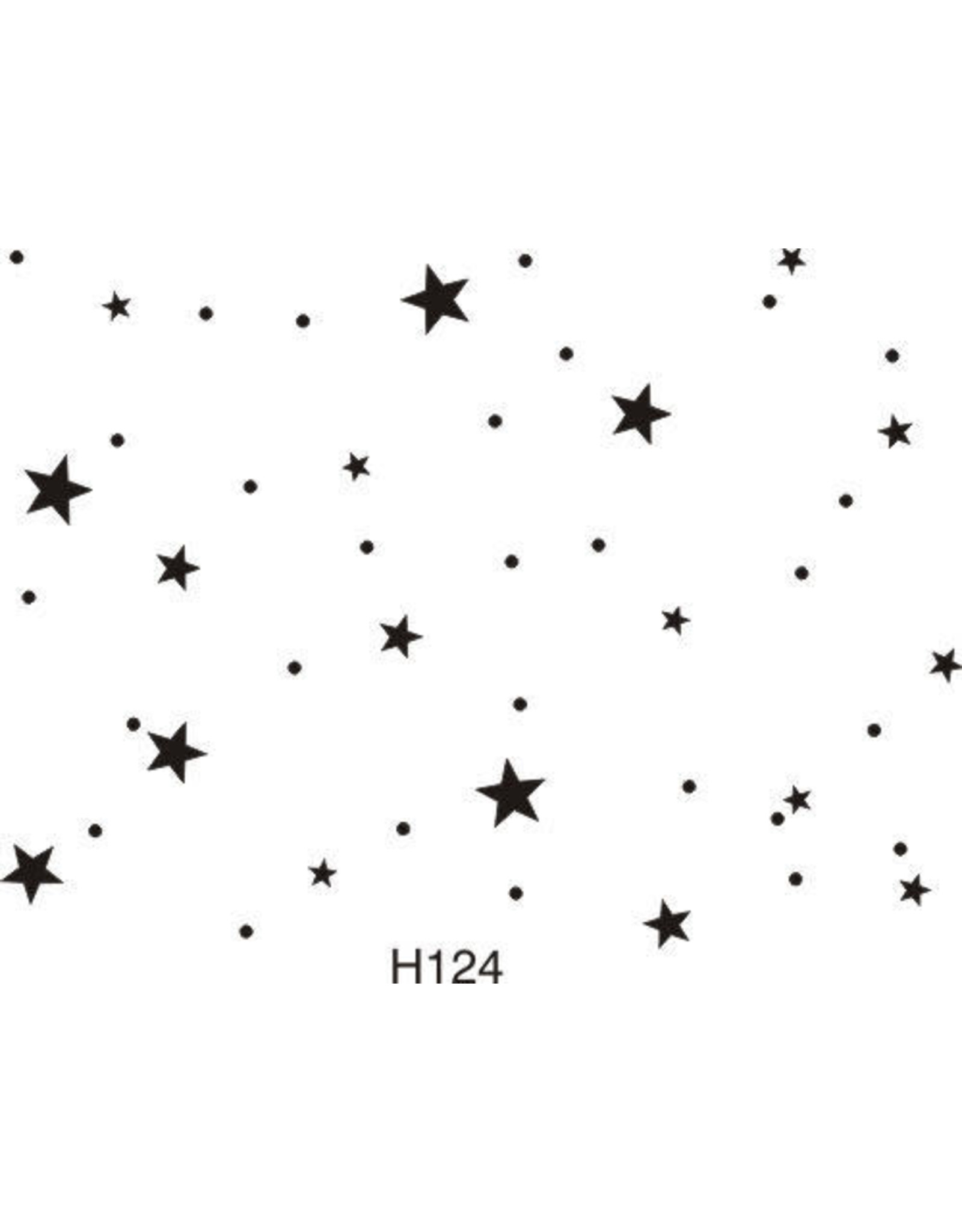 DRS Designs Starry Background Cling Stamp