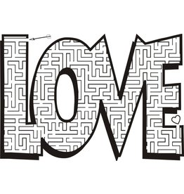 DRS Designs Amazing Love Puzzle Cling Stamp