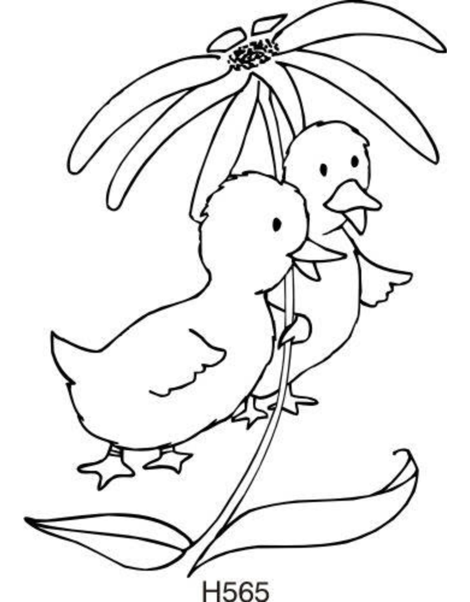 DRS Designs Ducks Decoration Cling Stamp