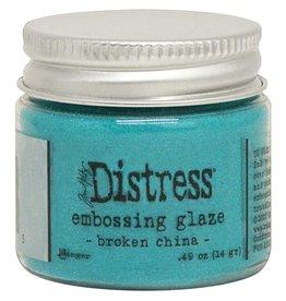 Ranger Distress Embossing Glaze - Broken China