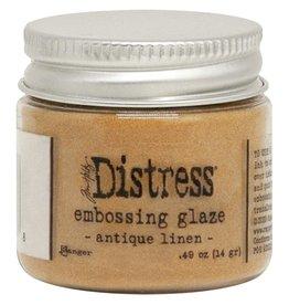 Ranger Distress Embossing Glaze - Antique Linen