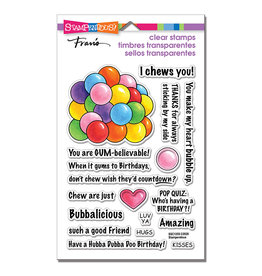 Stampendous Gumball Greetings Clear Stamp Set