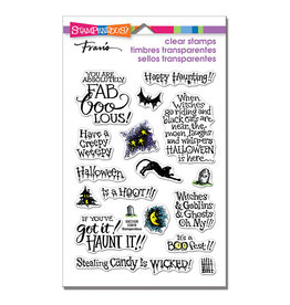 Stampendous FaBOOlous Clear Stamp Set