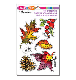 Stampendous Autumn Leaves Clear Stamp Set