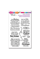 Stampendous Faith Peace Love Clear Stamp Set