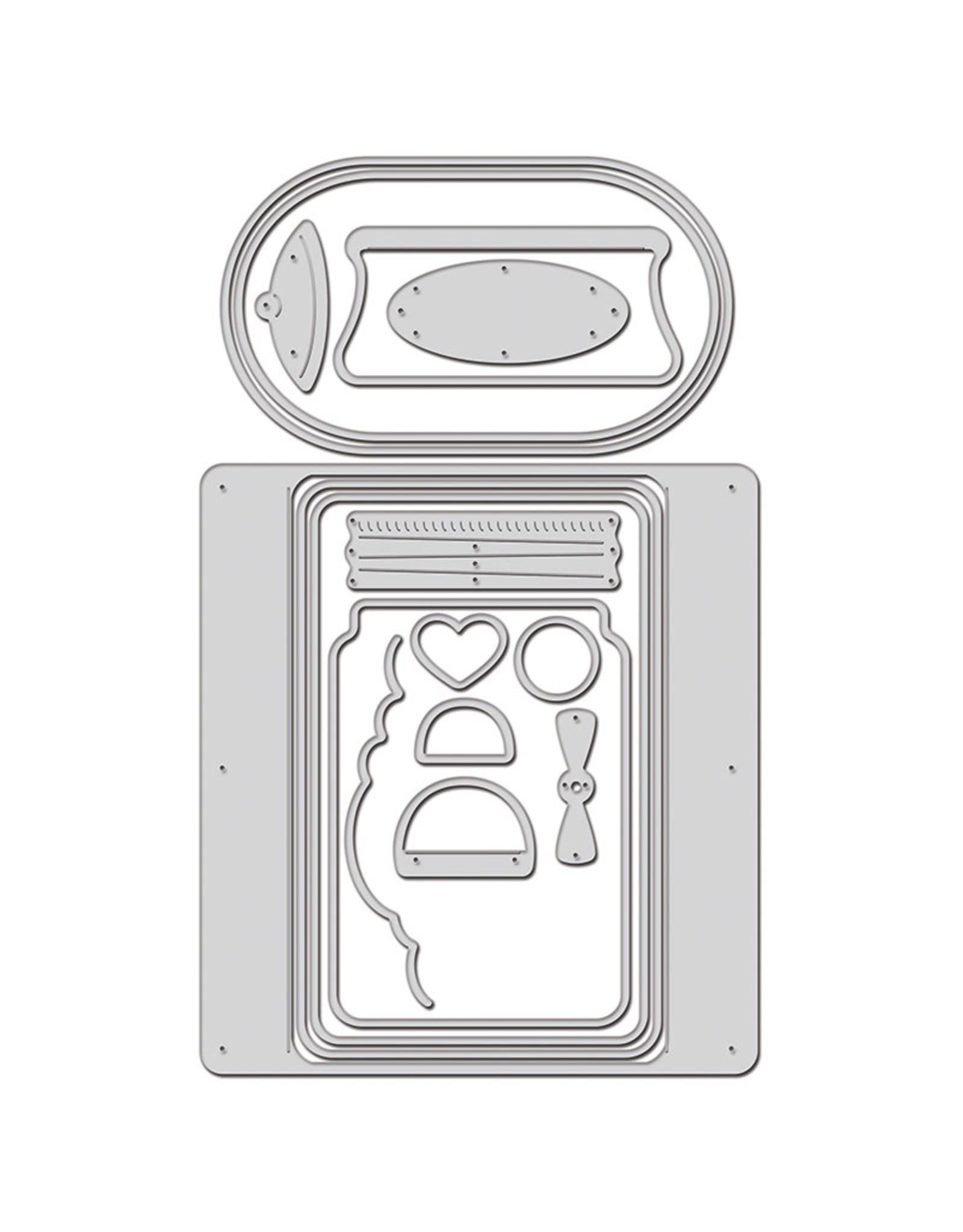 Stampendous WindowRama Dome Jar Shaker Die Set