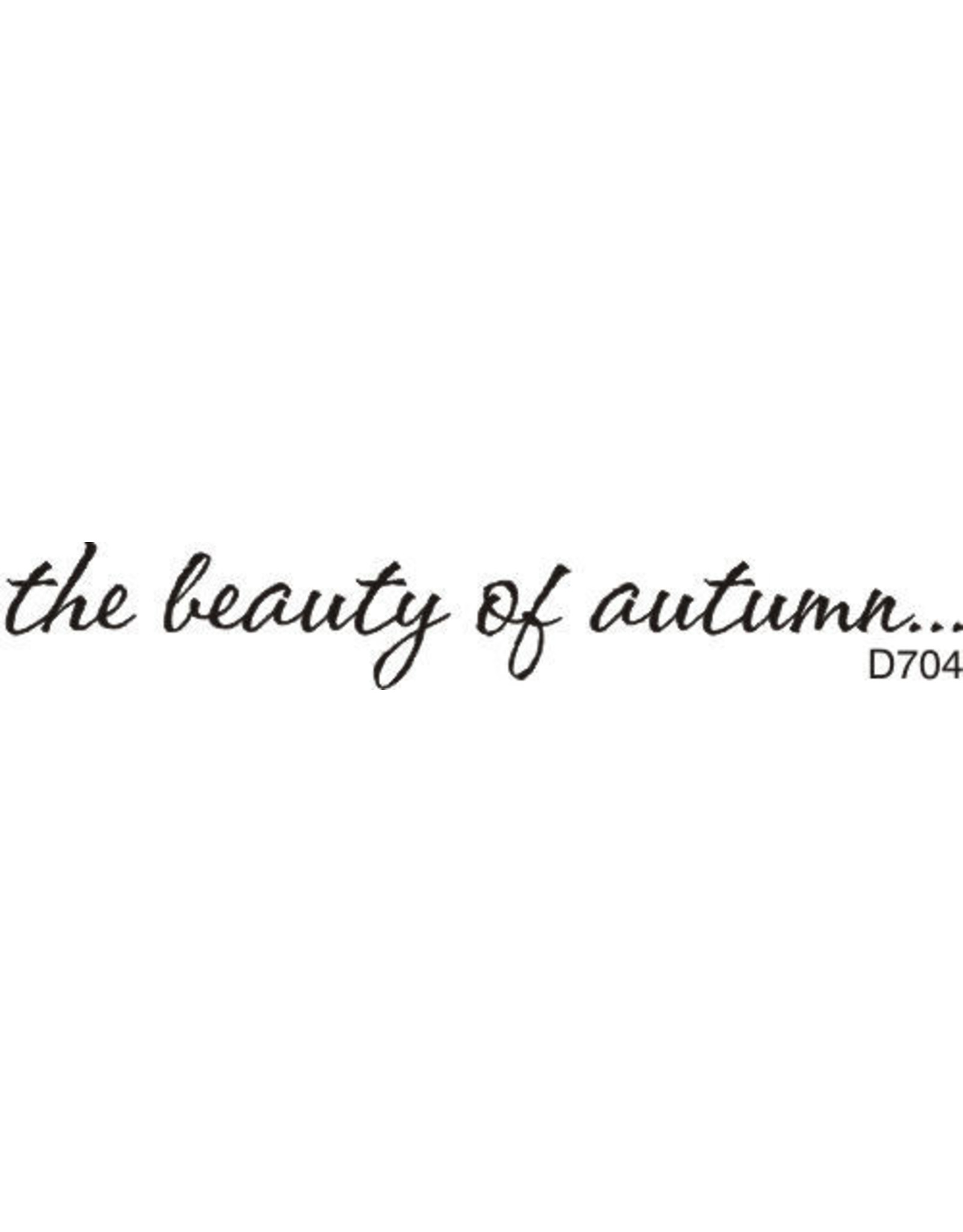 DRS Designs Beauty of Autumn ... Cling Stamp
