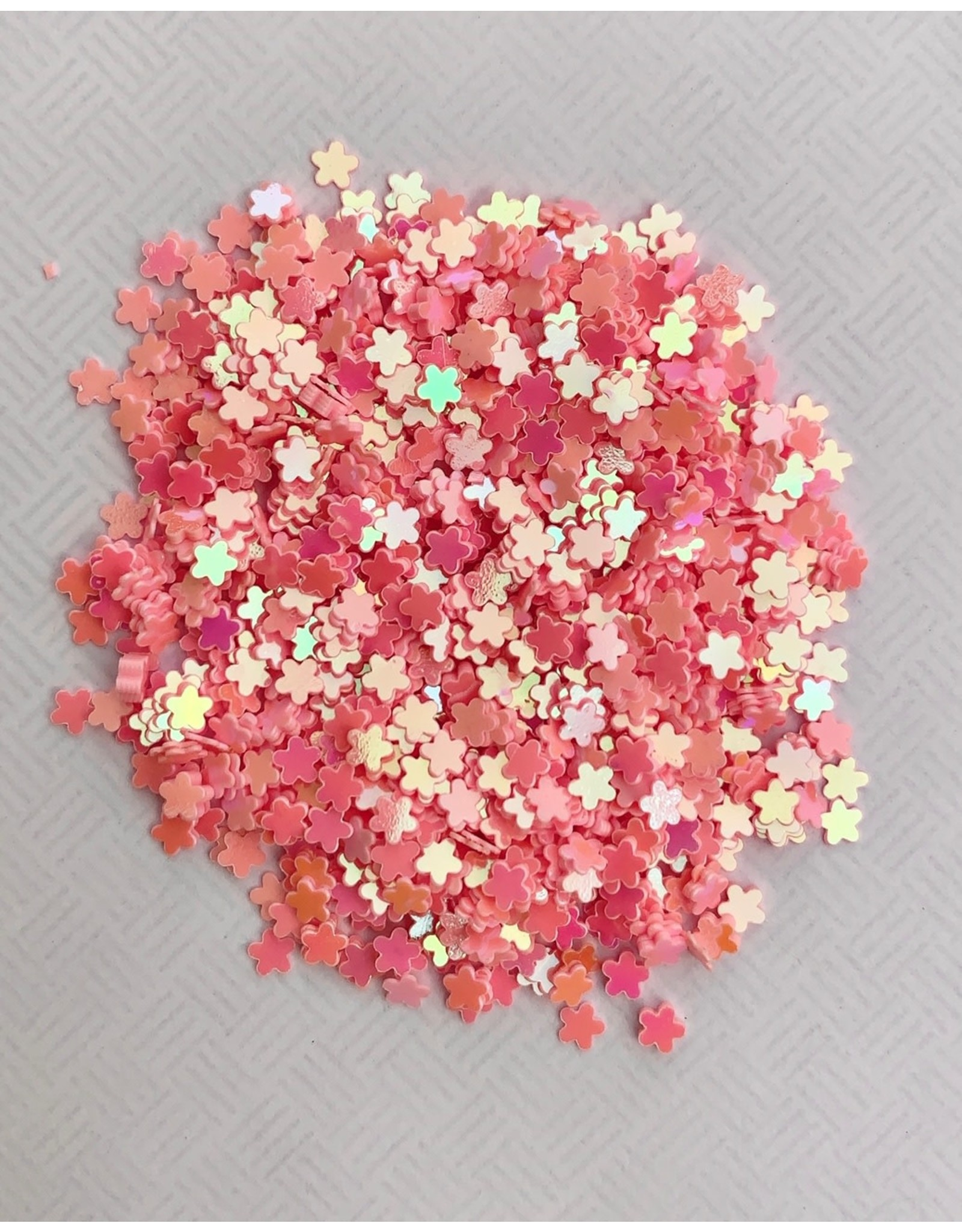 Paws-Itively Pawsome Designs Shaker Confetti - Mini Stars - Pink AB