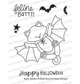 Newton's Nook Batty Newton Clear Stamp Set