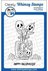 Whimsy Stamps Halloweeds Clear Stamp