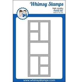 Whimsy Stamps Slimline Windows Die