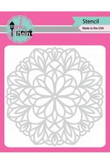 Pink and Main Mandala Stencil