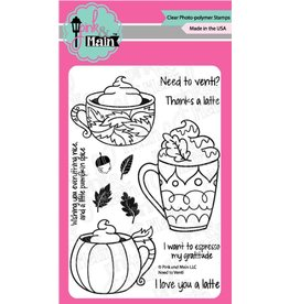 Pink and Main Need to Venti Clear Stamp Set