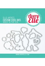 Avery Elle Monkey Sea Monkey Do Clear Stamp Set