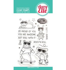 Avery Elle Stay Cool Clear Stamp Set