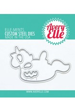 Avery Elle Suns Out Clear Stamp Set