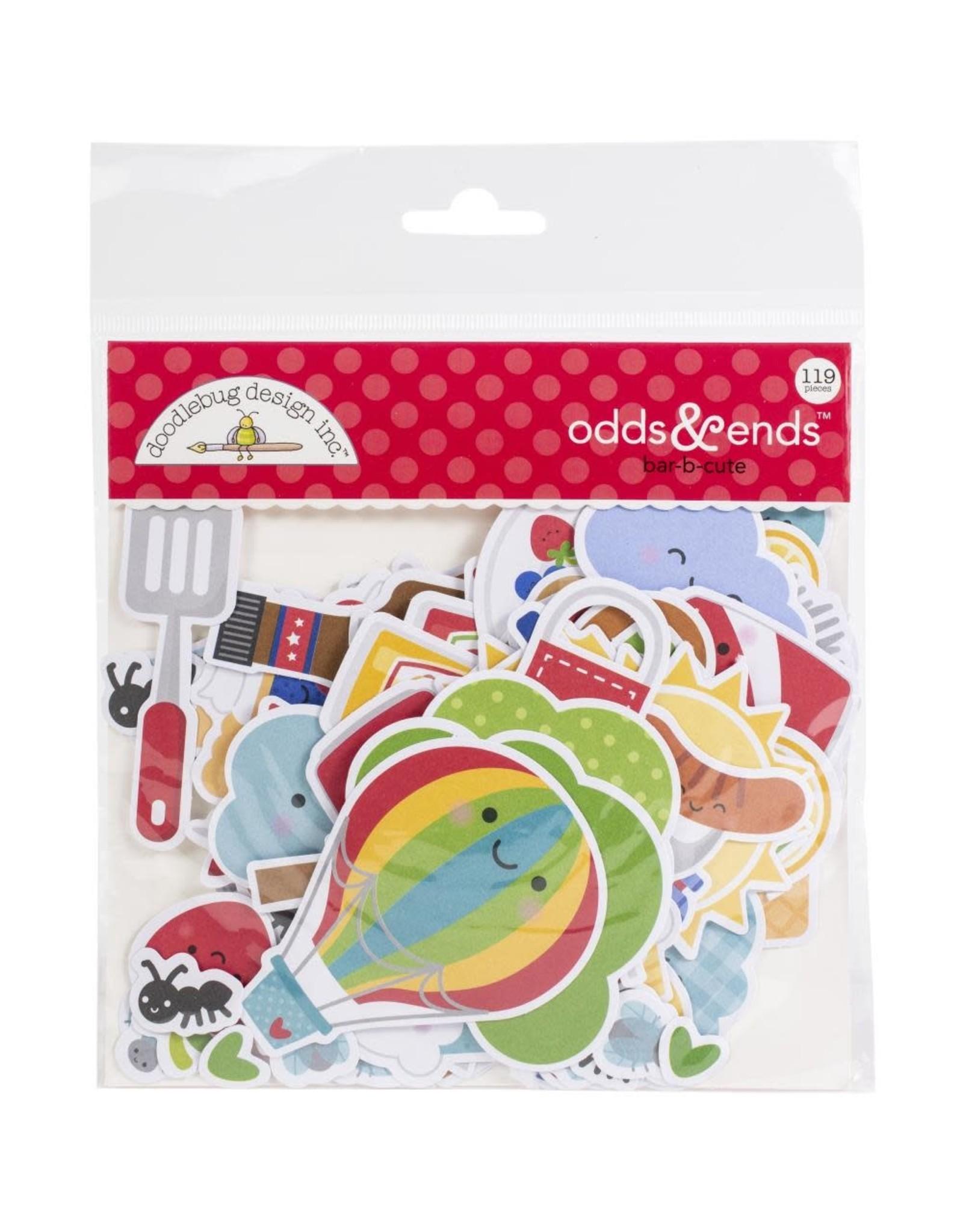 Doodlebug Design Inc. Doodlebug Odds & Ends Die Cuts - Bar B Cute