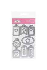 Doodlebug Design Inc. Mini Tags Doodle Cuts Die Set