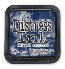 Ranger Distress Ink Pad - Chipped Sapphire