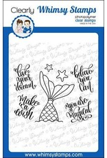 Whimsy Stamps Mermaid Dreams Clear Stamps