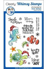 Whimsy Stamps Christmas Tidings Clear Stamp Set