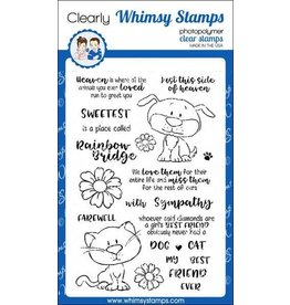 Whimsy Stamps A Girl's Best Friend Clear Stamp Set