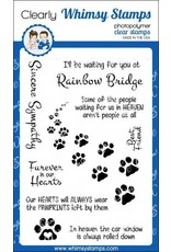 Whimsy Stamps Furever in Our Hearts Clear Stamp Set