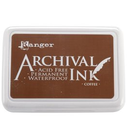 Ranger Archival Ink - Coffee Ink Pad