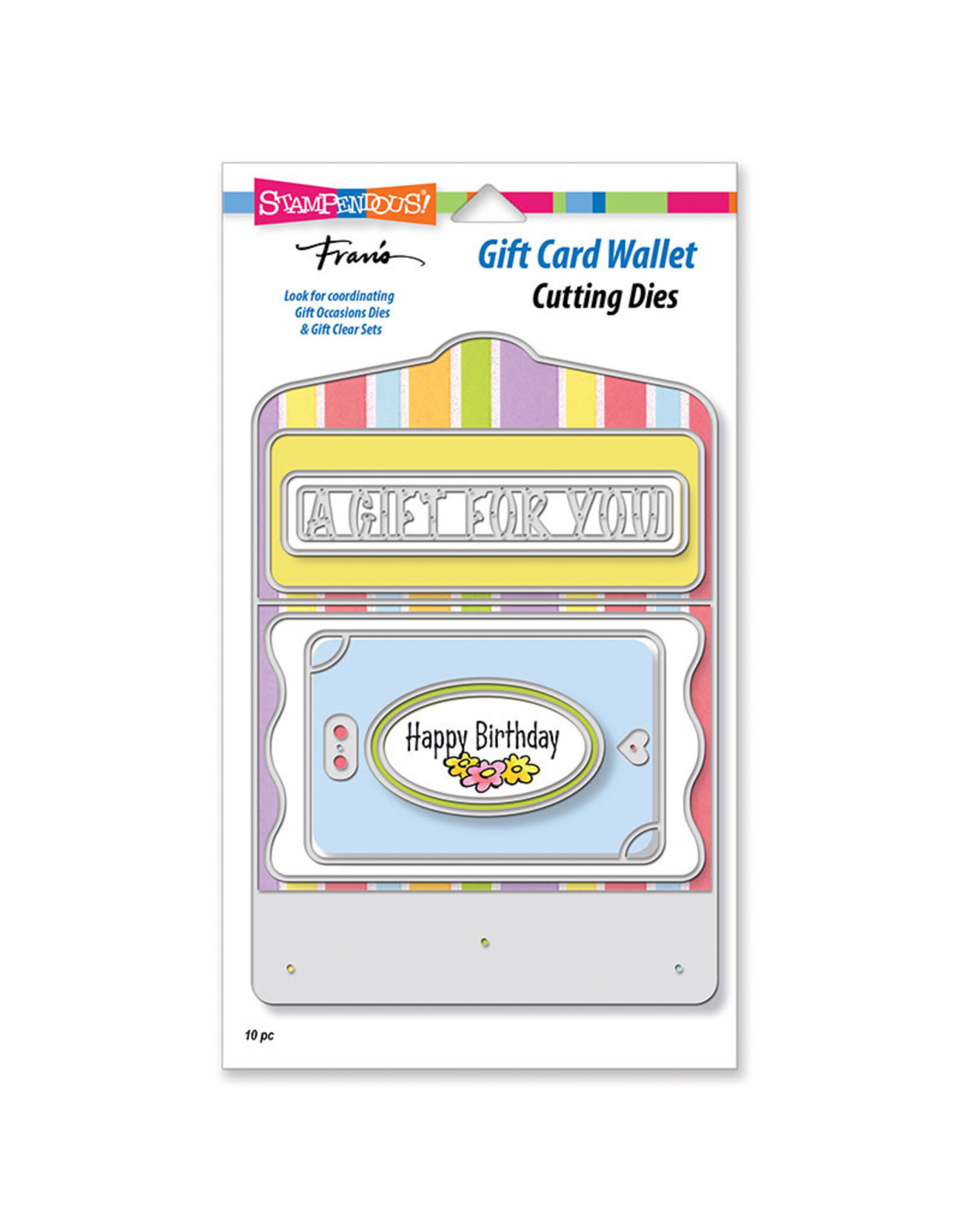Stampendous Gift Card Wallet Die Set