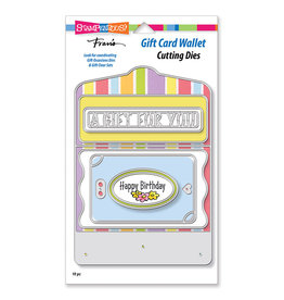 Stampendous Gift Card Wallet Die Set