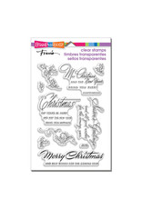 Stampendous Christmas Wishes Clear Stamp Set