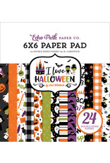 Echo Park I Love Halloween 6x6 Paper Pad