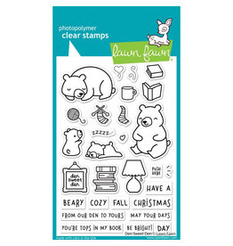 Lawn Fawn Den Sweet Den Clear Stamp Set