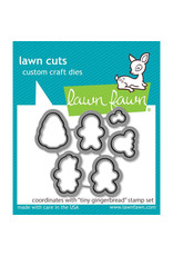 Lawn Fawn Tiny Gingerbread Die Set
