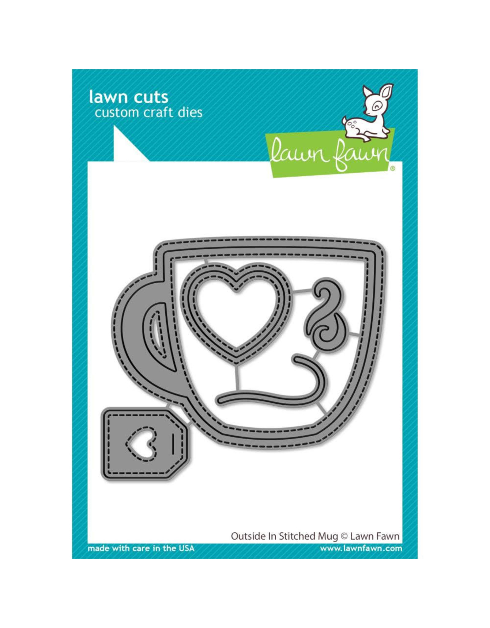 Lawn Fawn Outside In Stitched Mug Die Set