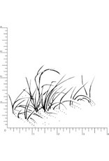 DRS Designs Sea Grass Cling Stamp