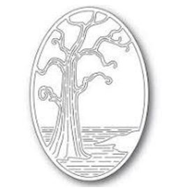 Poppystamps, Inc. Twisted Tree Oval die