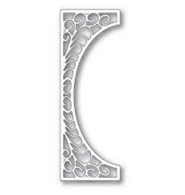 Poppystamps, Inc. Flourish Tall Curve Border