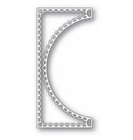 Poppystamps, Inc. Scallop Tall Curve Border