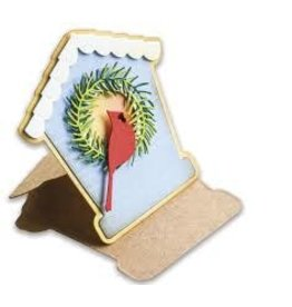 Poppystamps, Inc. Bird House Pop Up Easel Die Set