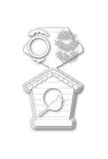 Poppystamps, Inc. Bird House Pop Up Easel Die Set