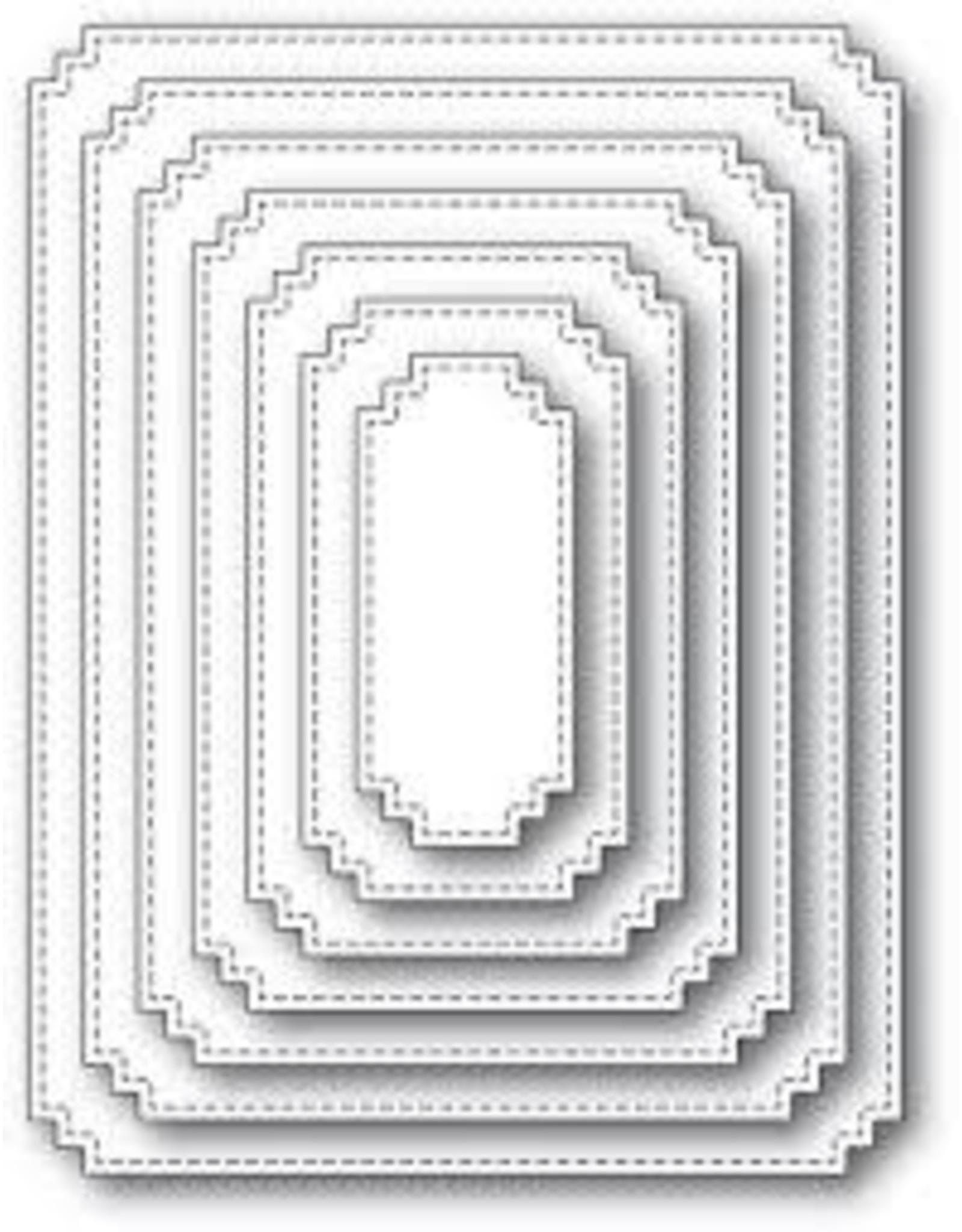 Memory Box Matinee Rectangle Layers Die Set