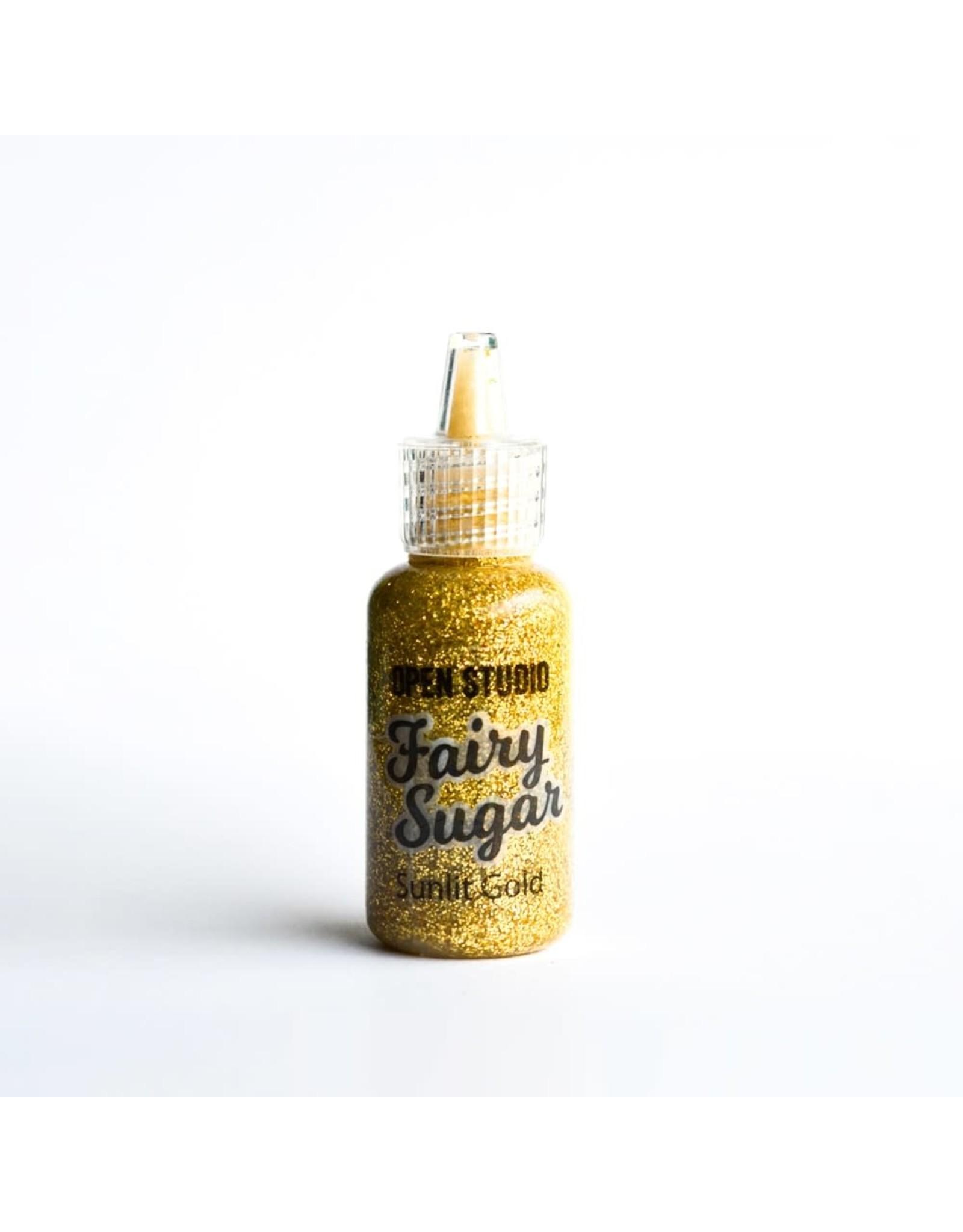 Memory Box Open Studio Fairy Sugar - Sunlit Gold