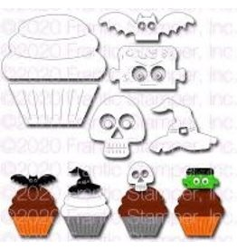 Frantic Stamper Inc Cupcake & Halloween Toppers #1