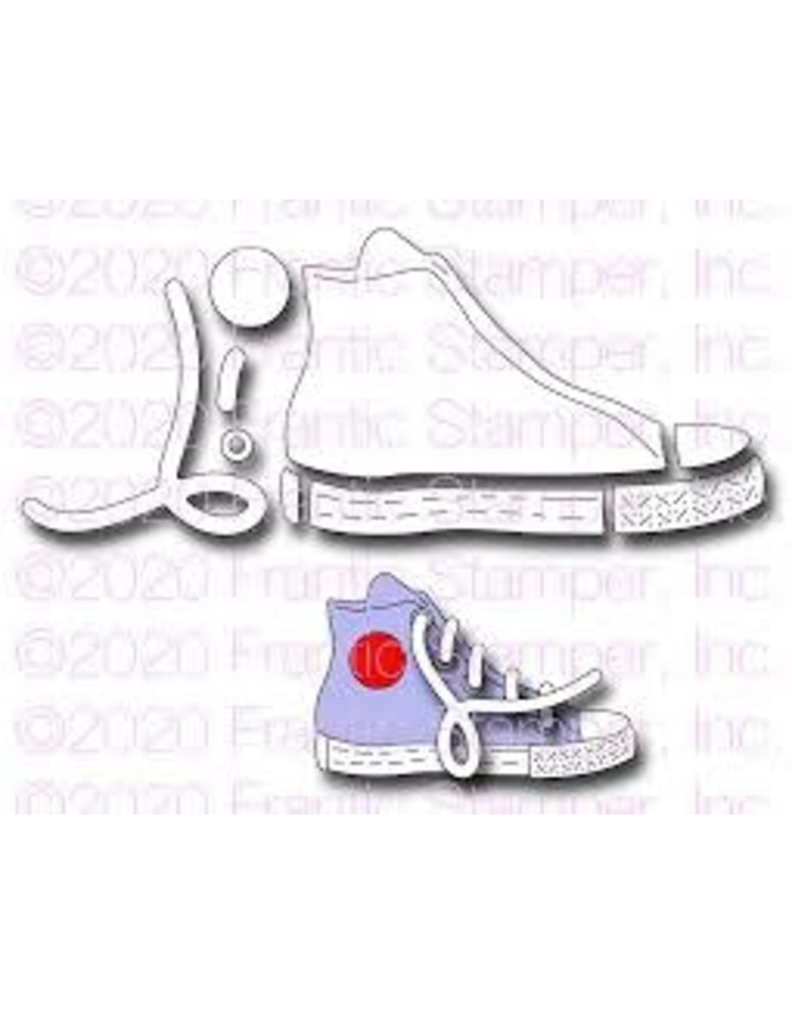 Frantic Stamper Inc High Top Sneaker Die Set