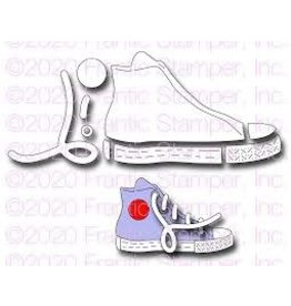 Frantic Stamper Inc High Top Sneaker Die Set